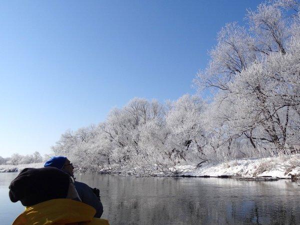 冬の釧路川も素敵ですよ!