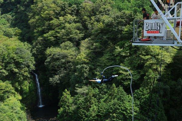 富士 バンジー ジャンプ