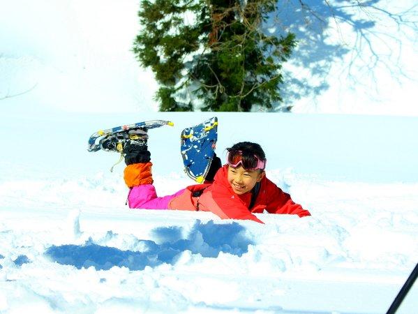 小学1年生から参加できます!ご家族での冬の想い出づくりに♪