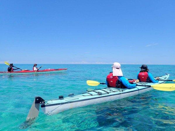 エメラルドグリーンの澄み渡る海で・・・西表島の大自然に包まれよう