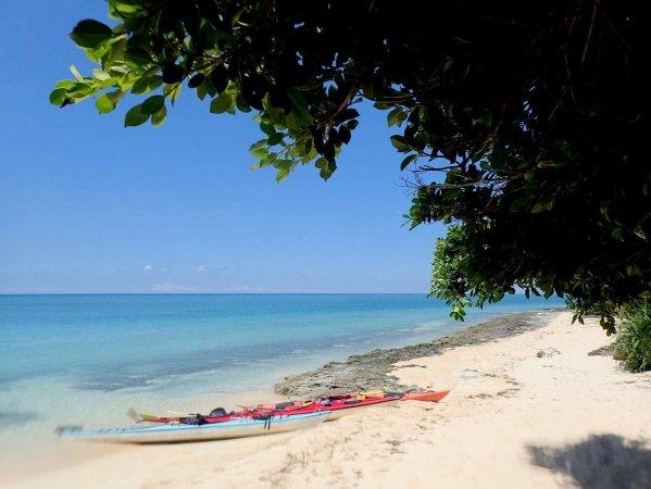 プライベート感溢れるビーチへ!