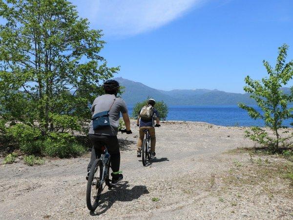 札幌・支笏湖 マウンテンバイク