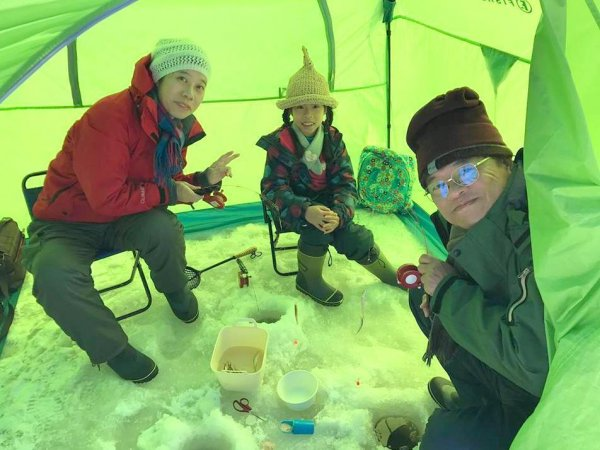 氷上ワカサギ釣り 1日ツアー
