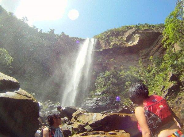 ピナイサーラの滝!圧巻のスケールです!