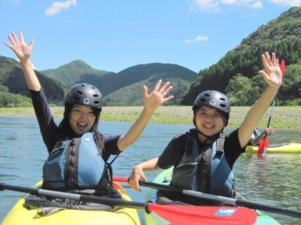 カヌーって楽しい!自然のパワーを全身で感じよう!