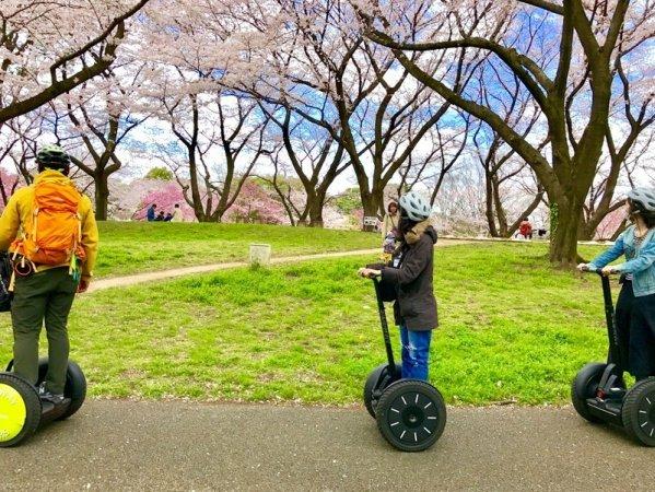 昭和記念公園 セグウェイ