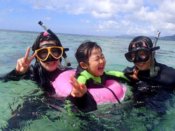 サンゴおさかなシュノーケリング