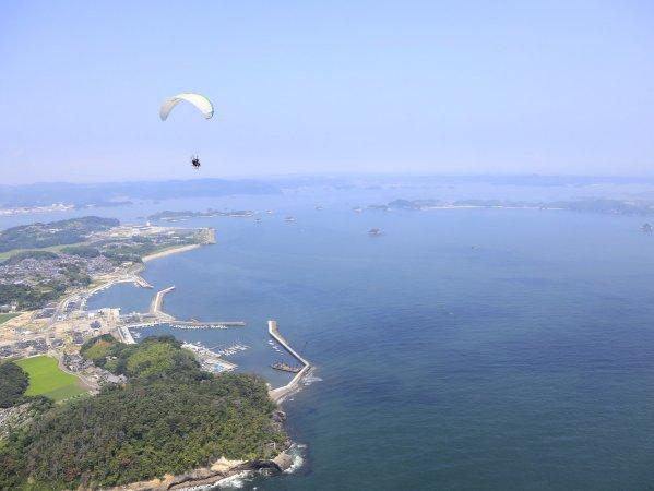 松島 モーターパラグライダー