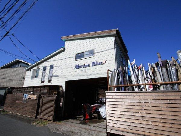MarineBlueクラブハウス