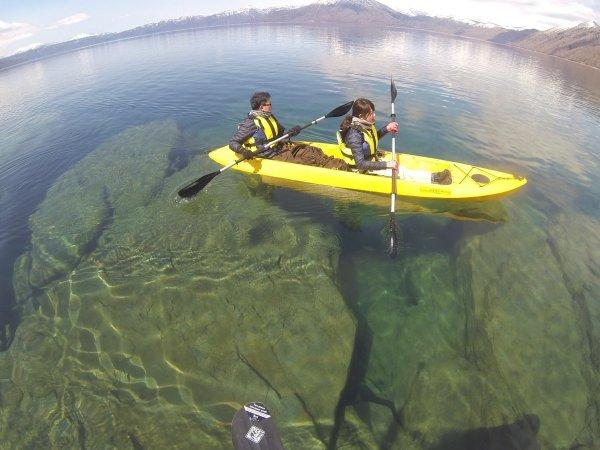 透明度抜群の支笏湖