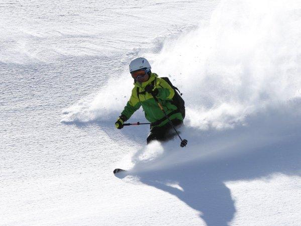 プロスキーヤーのアドバイスでステップアップ