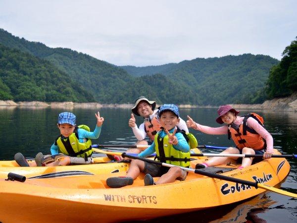 奈良俣湖 カヌー
