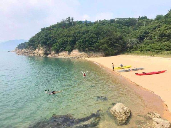 静かなビーチを独占!瀬戸内海ならではの景色を満喫しよう!