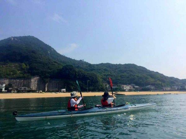 瀬戸内海で楽しむ、のんびりシーカヤック!