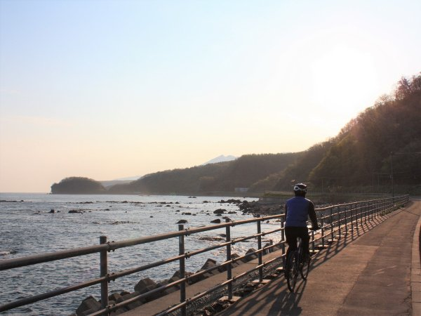 知床 サイクリング