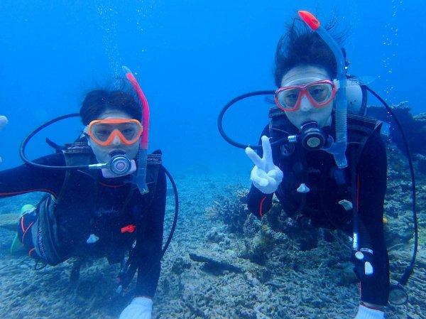 経験豊富なインストラクターがサポート!海の世界をのぞいてみよう!