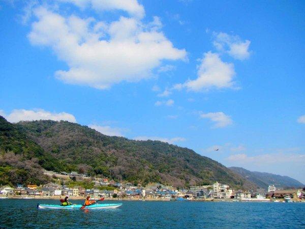 名勝地・鞆の浦の海をシーカヤックで満喫!