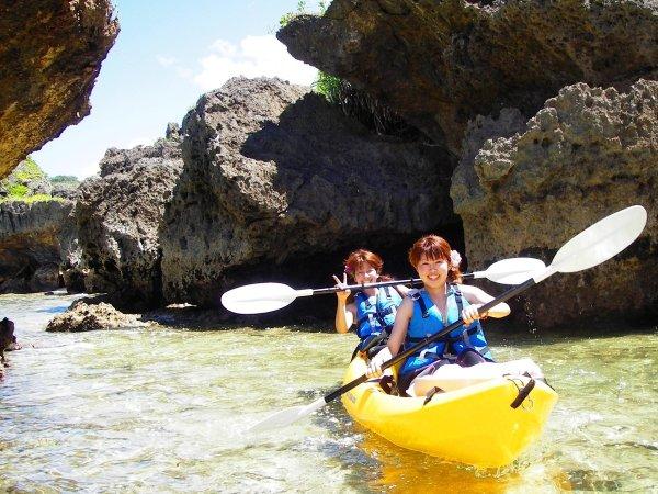 沖縄本島 シーカヤック