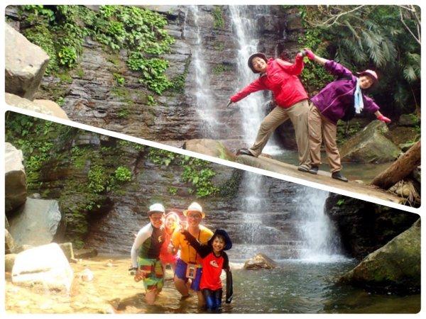 マイナスイオンたっぷりの滝遊びも楽しめる!