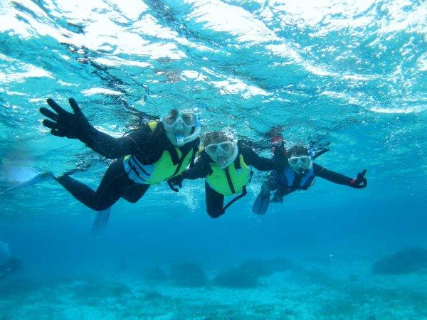 みんなの憧れ!沖縄の海でたのしむシュノーケリングツアー!