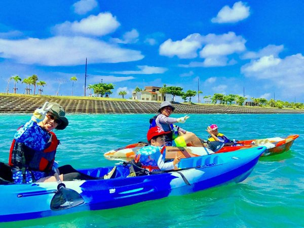 美ら島海道 シーカヤック