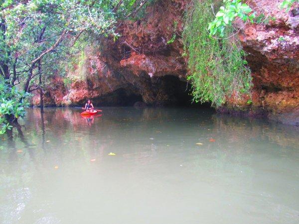 秘密の洞窟
