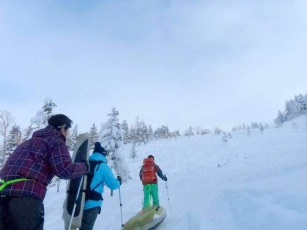 ふかふかの雪で、スノーシューハイキングを楽しもう!