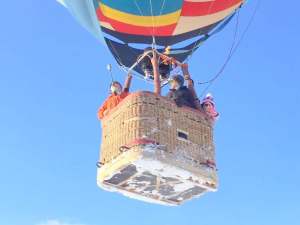 風に乗って、空の旅へ出発しよう!