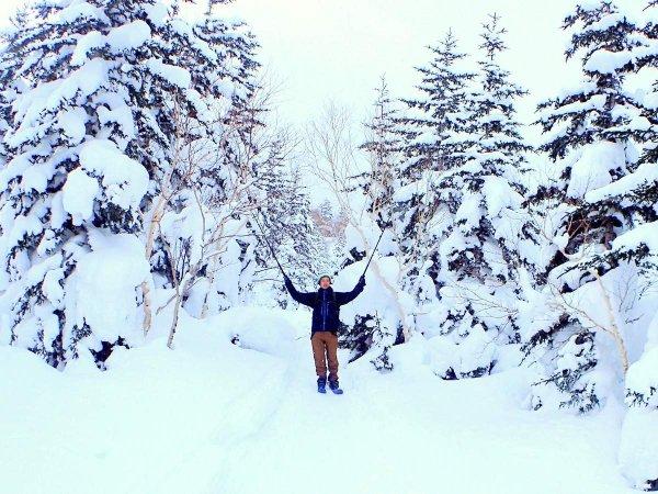 富良野(大雪山) 歩くスキー