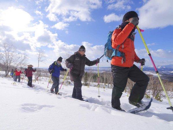 スノーシューを履いて雪原へ歩き出そう!