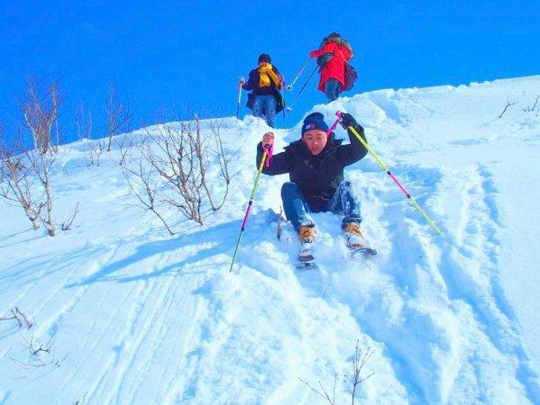 雪遊びも楽しめるプランです!