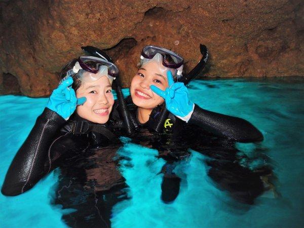 沖縄本島(青の洞窟エリア)シュノーケリング