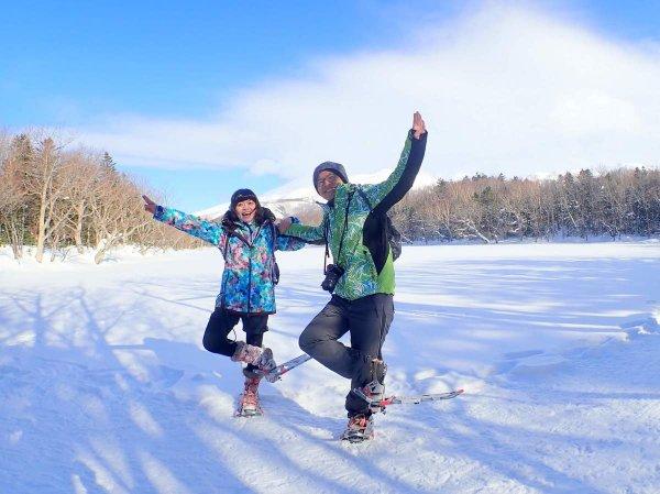 白銀のフィールドへ!冬の知床五湖を歩いてみよう!