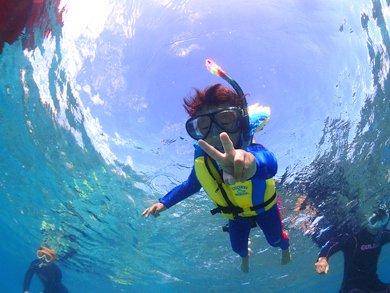 透明度抜群の奄美大島でシュノーケリングを楽しもう!