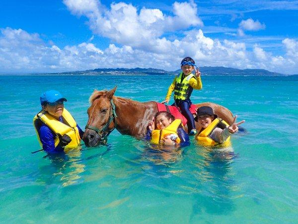 馬と泳ごう!海うま遊び(うみうまあそび)コース