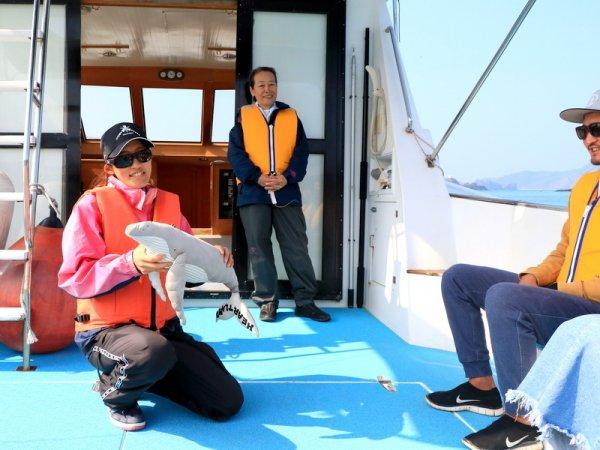 クジラに優しく参加者に嬉しいハートランドこだわりのホエールウォッチング!