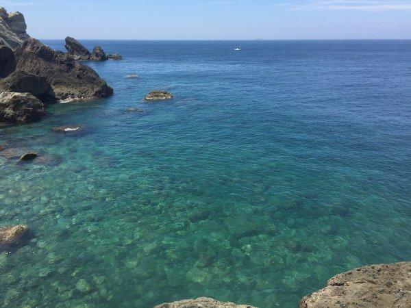 透明度抜群のプライベートビーチ