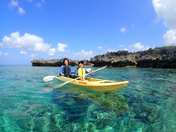 カヤックとセットのコースもあり!宮古島の海を1日満喫しよう!