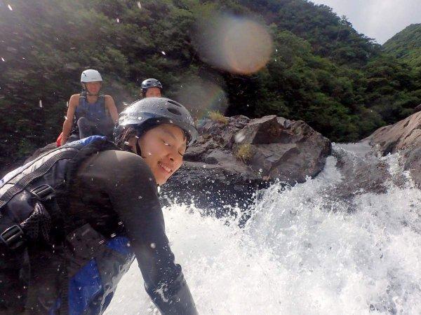 屋久島 シャワークライミング