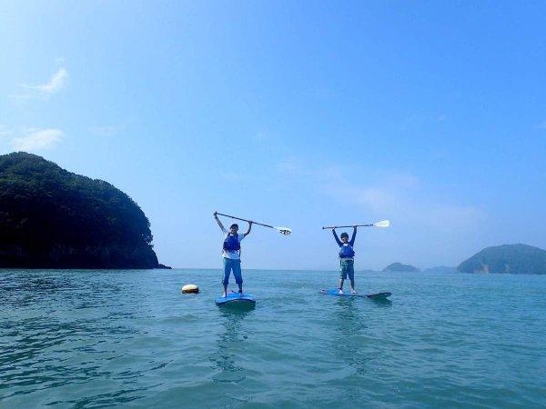 三重県中部に色濃く残る自然の中でSUPを楽しもう!