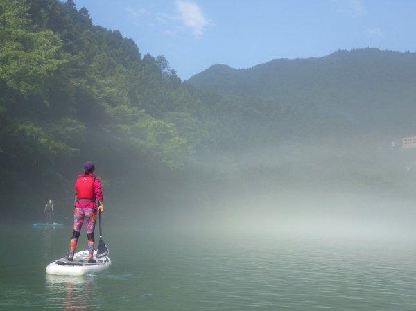 奥多摩 白丸湖 レイクSUP