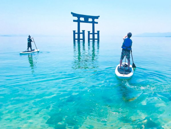 琵琶湖 SUP
