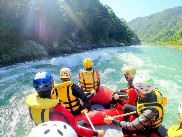 球磨川 ラフティング