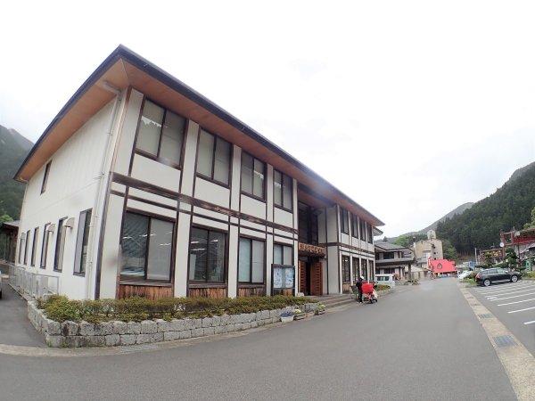 川上村役場前・駐車場(カヤックツアー集合場所)
