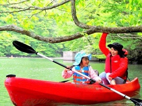板室(いたむろ)ダム湖カヌー体験ツアー