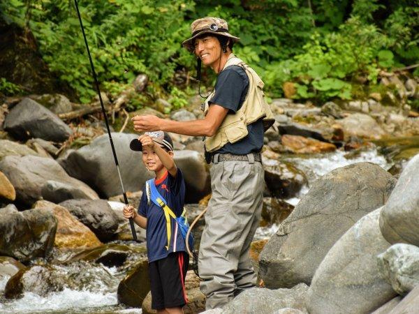 【貸切】イワナ・ヤマメ渓流釣り