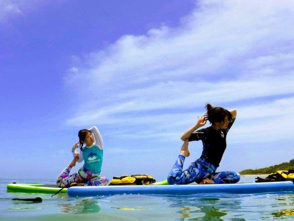 沖縄本島(知念岬) SUP