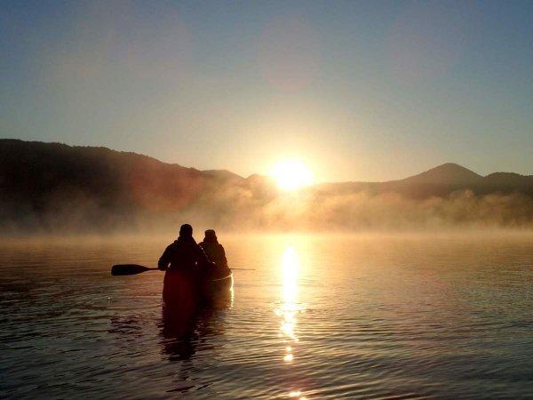 十和田湖 カヌー