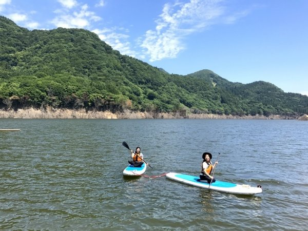中村川・白神湖(津軽・弘前・白神) レイク・リバーSUP