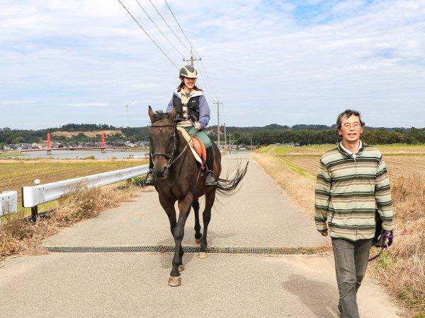 福井あわら 乗馬・ホーストレッキング